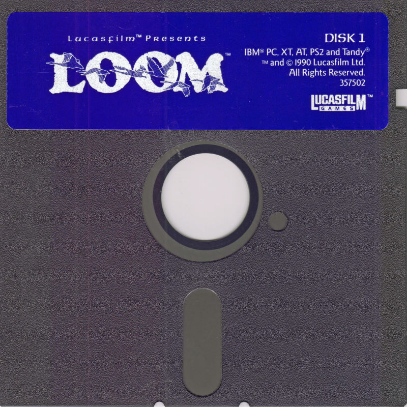 Loom DOS Media 1 of 6