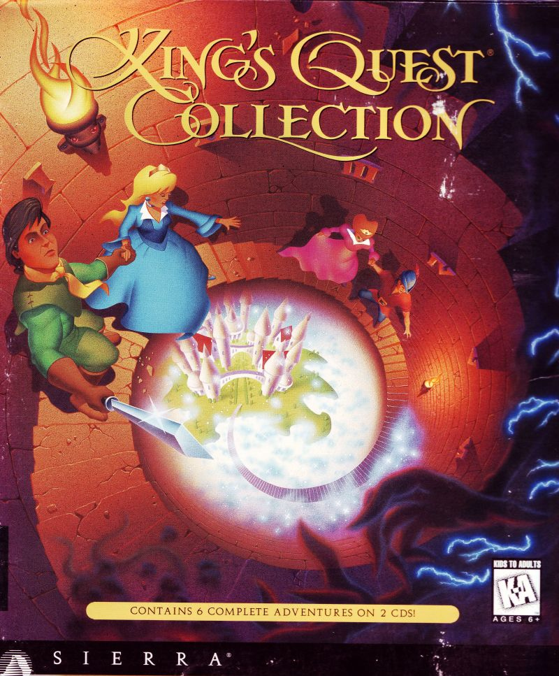 King's Quest (Collector's Edition) DOS Front Cover