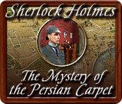Sherlock Holmes: The Mystery of the Persian Carpet Windows Front Cover