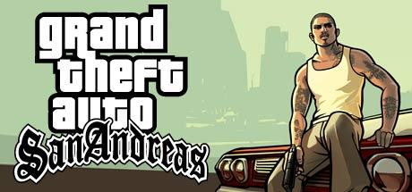 Grand Theft Auto: San Andreas Macintosh Front Cover