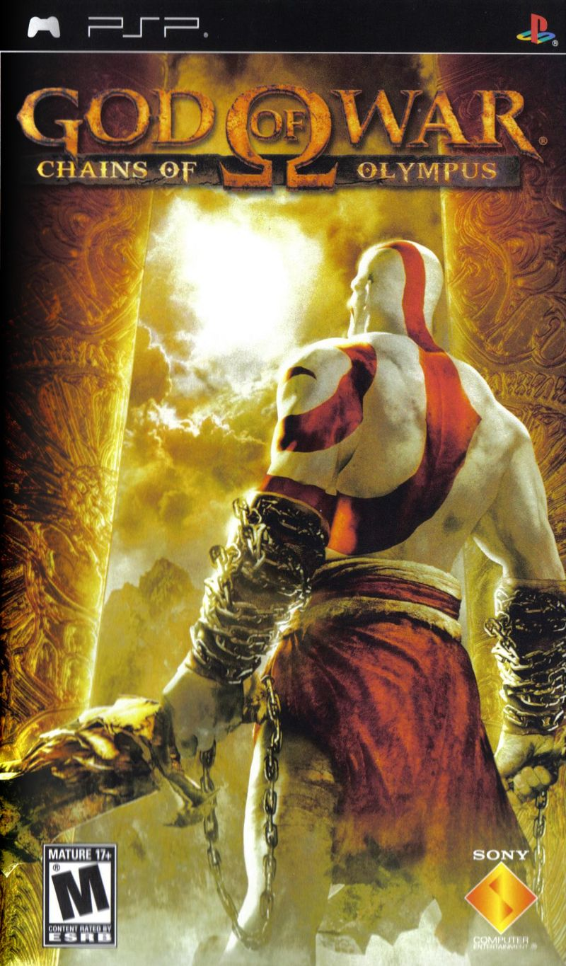 God of War: Chains of Olympus PSP Front Cover