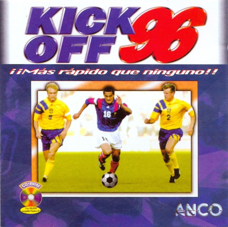 Kick Off 96 DOS Front Cover