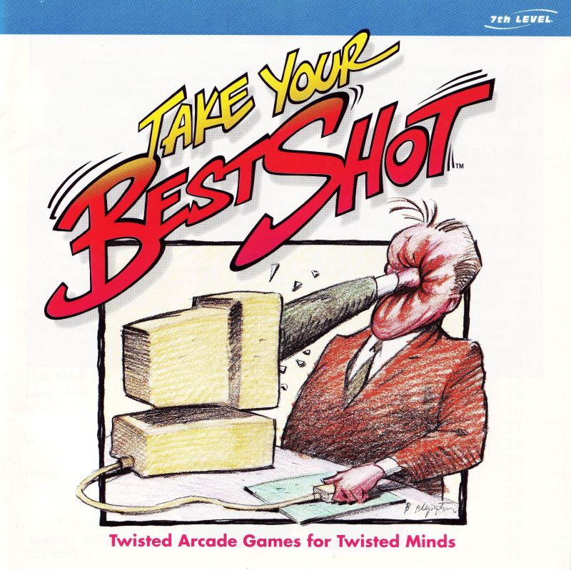 Take Your Best Shot Windows 3.x Other Jewel Case - Front