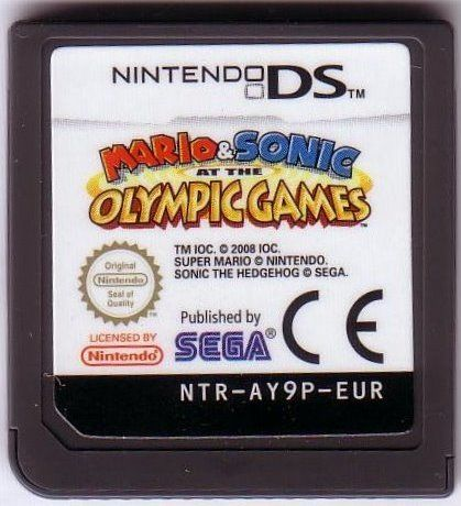 Mario & Sonic at the Olympic Games Nintendo DS Media