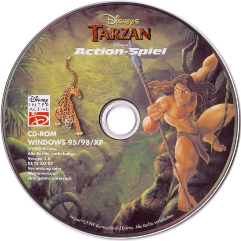 Disney's Tarzan Windows Media