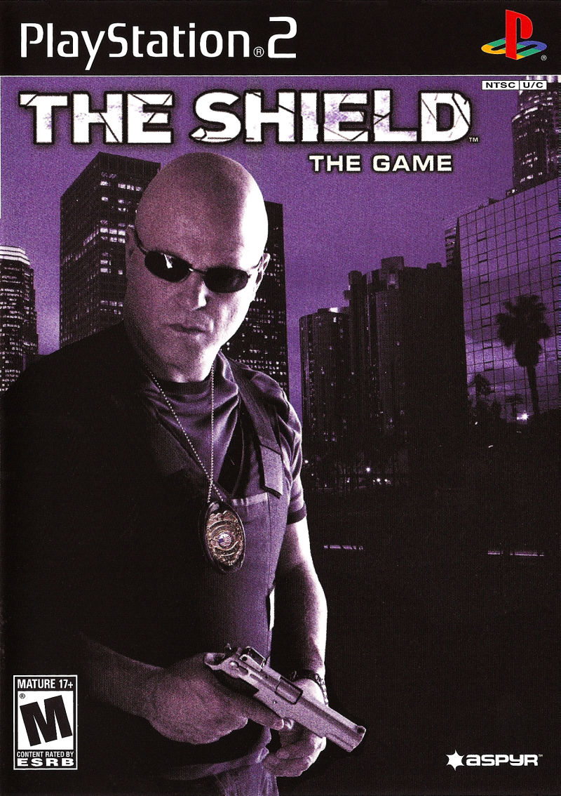 The Shield: The Game PlayStation 2 Front Cover