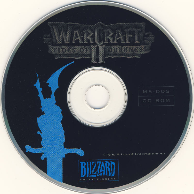 Warcraft II: Tides of Darkness DOS Media