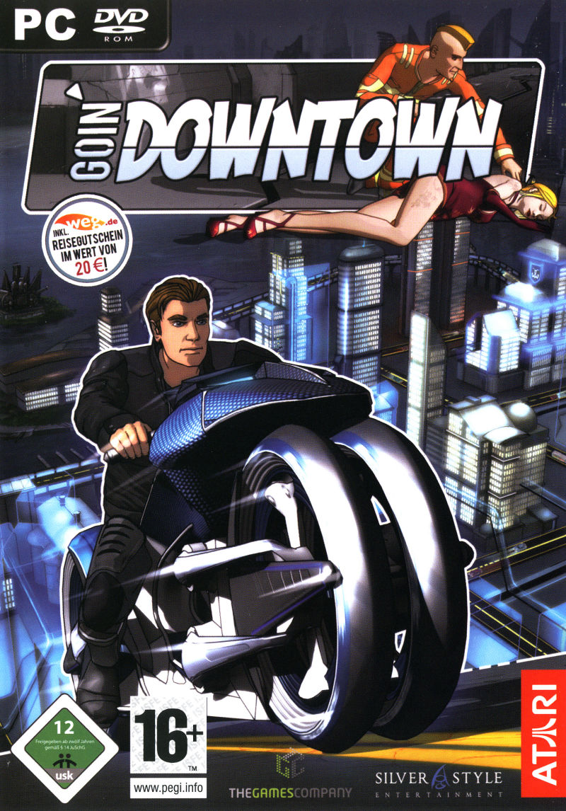 Goin' Downtown Windows Front Cover
