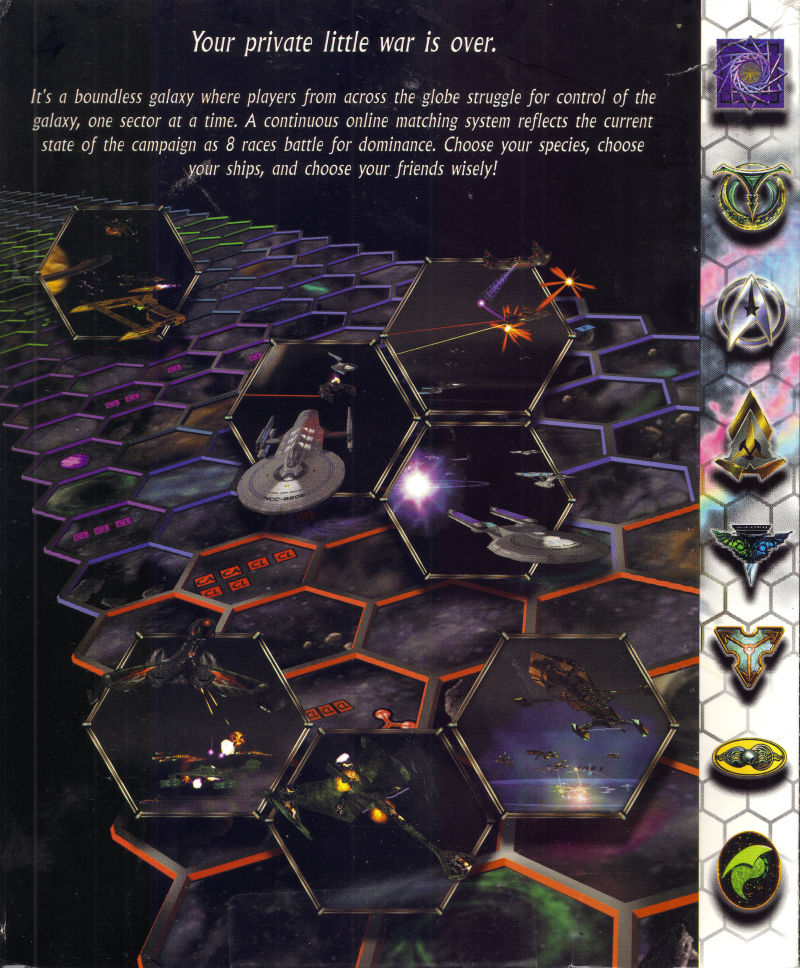 Star Trek: Starfleet Command Volume II - Empires at War Windows Inside Cover Right