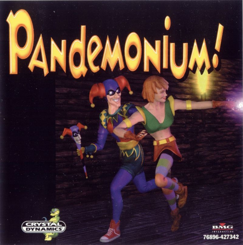 Pandemonium! Windows Other Jewel Case - Front