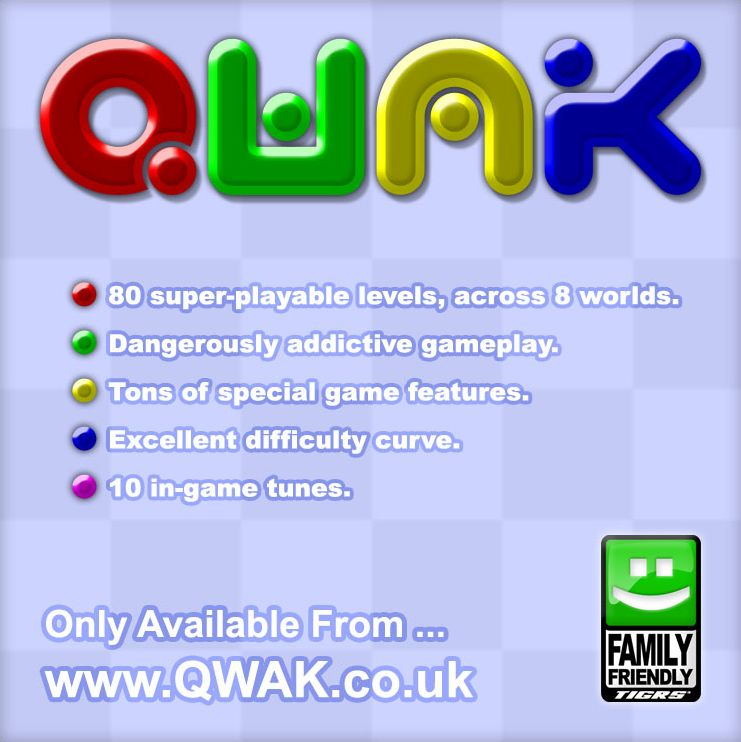 Qwak Game Boy Advance Front Cover