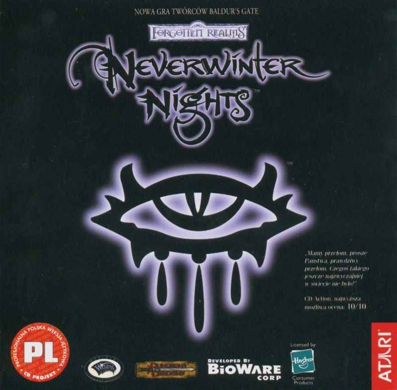 Neverwinter Nights Windows Other Jewel Case - Front
