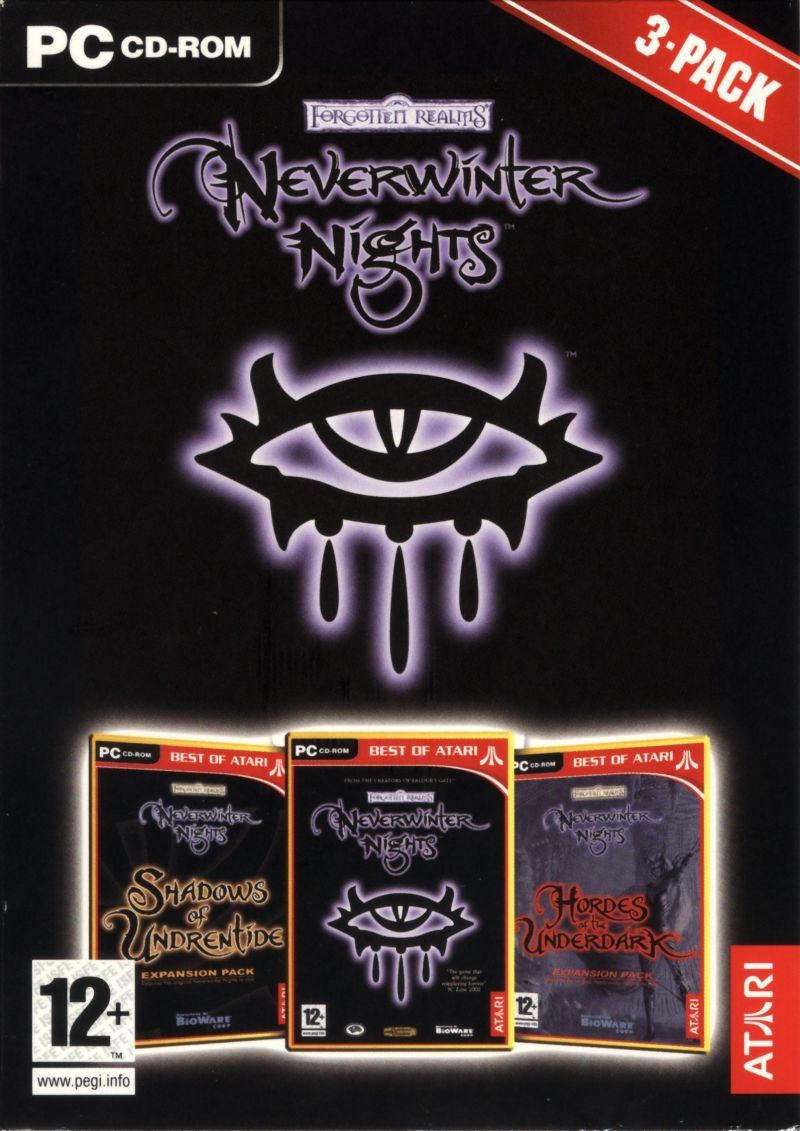 Neverwinter Nights 3-Pack Windows Front Cover