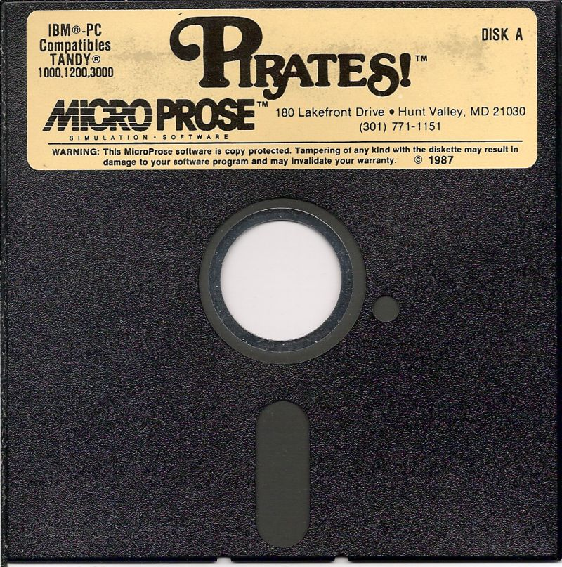 Sid Meier's Pirates! PC Booter Media