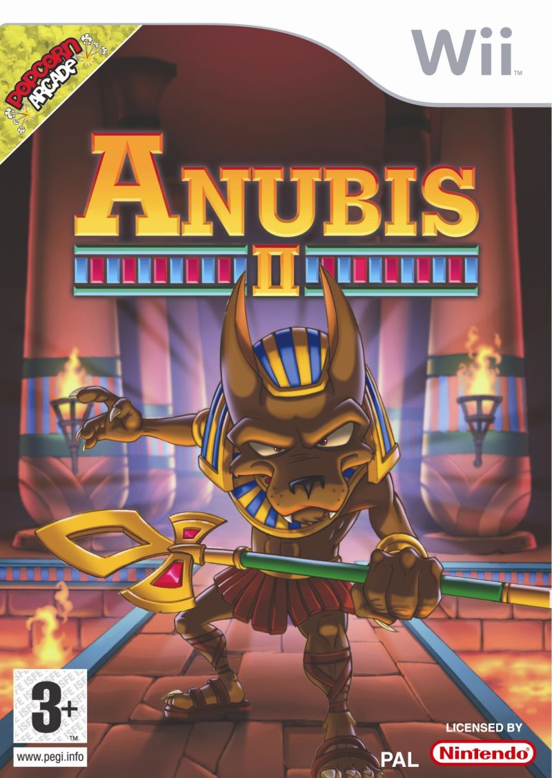 Anubis II Wii Front Cover