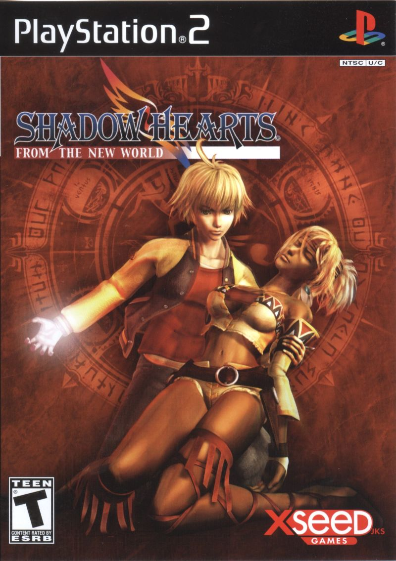 Shadow Hearts: From the New World PlayStation 2 Front Cover