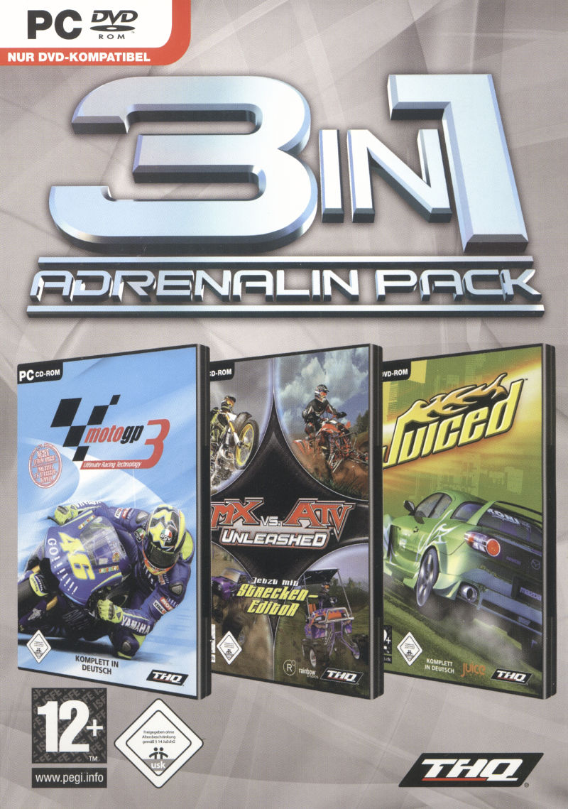 3in1 Adrenalin Pack Windows Front Cover