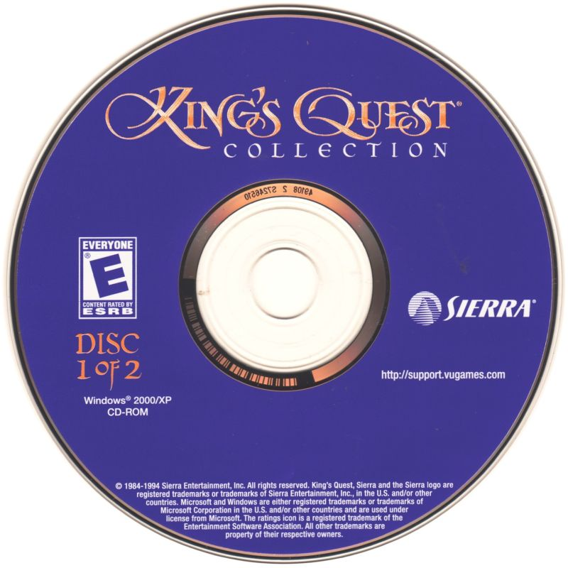 King's Quest Collection Windows Media Disc 1