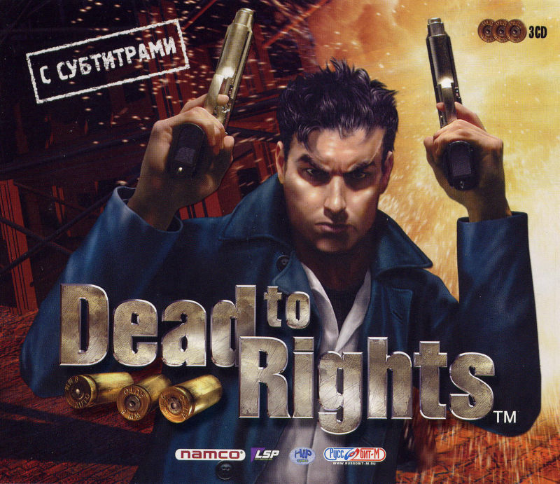 Dead to Rights Windows Front Cover