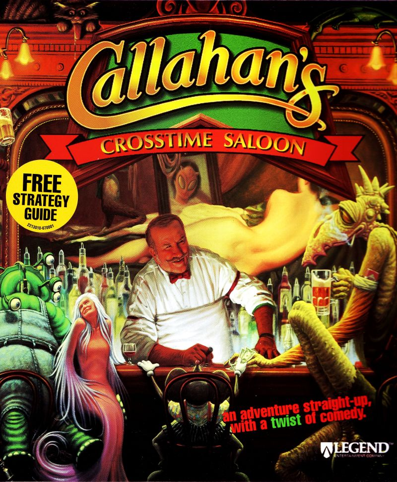 Callahan's Crosstime Saloon DOS Front Cover