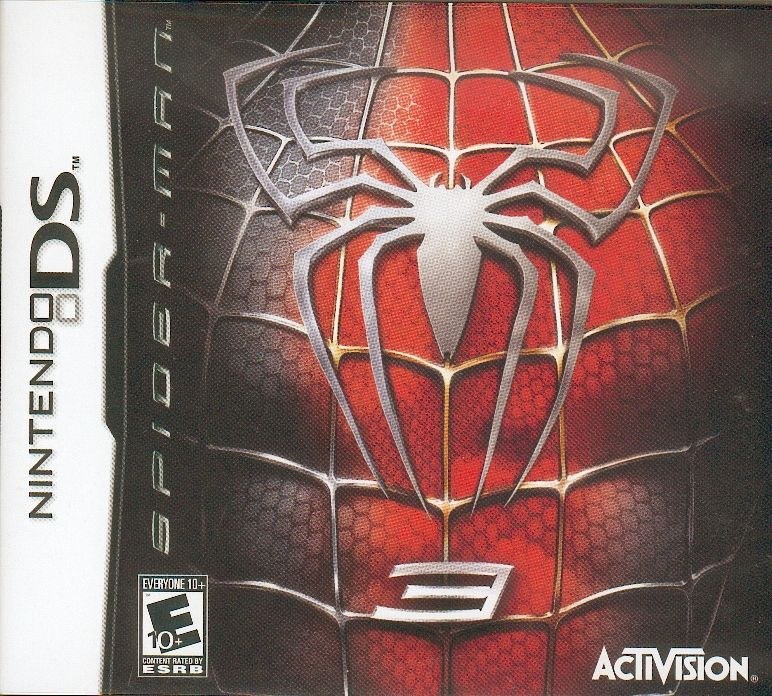 Spider-Man 3 Nintendo DS Front Cover