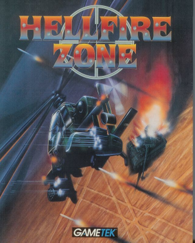 Hellfire Zone DOS Front Cover