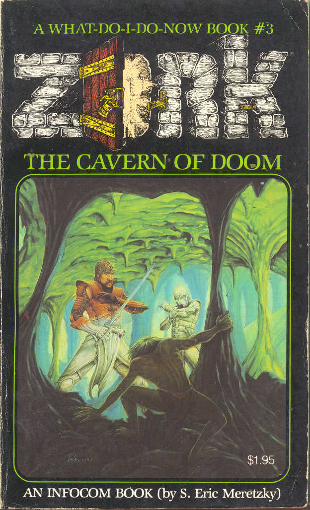 Zork: The Cavern of Doom Browser Front Cover