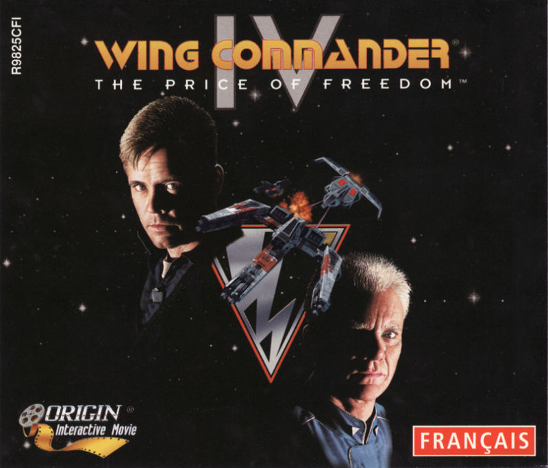 Wing Commander IV: The Price of Freedom DOS Other Jewel Case - Front