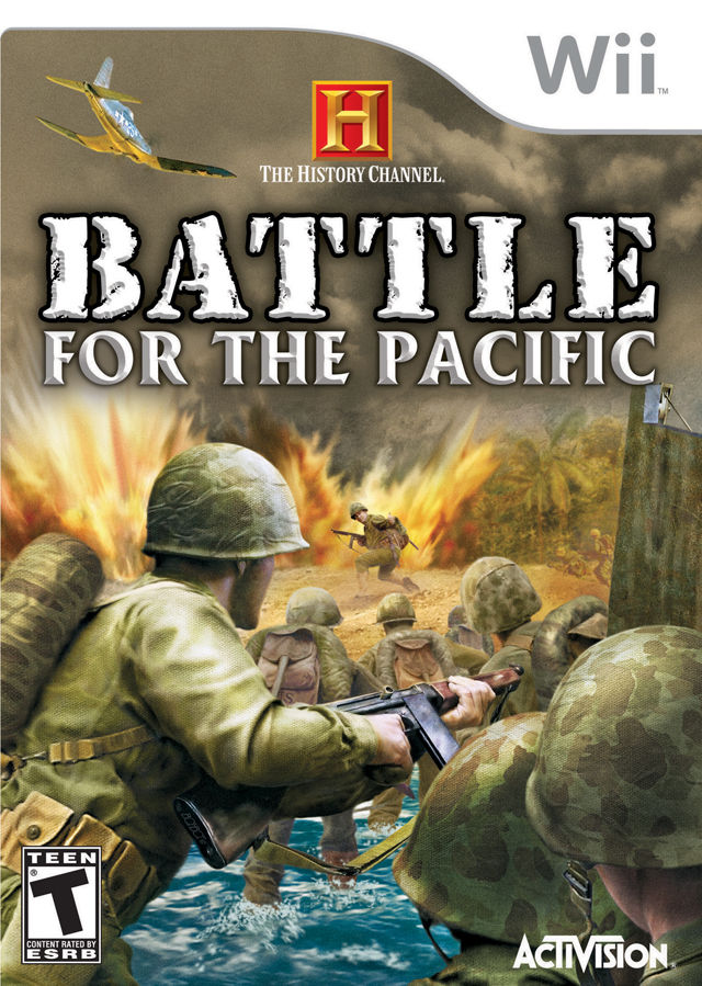 The History Channel: Battle for the Pacific Wii Front Cover