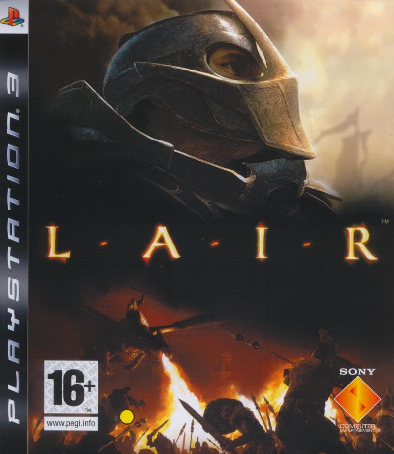 Lair PlayStation 3 Front Cover