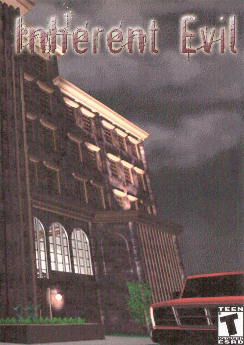 Inherent Evil: The Haunted Hotel Windows Front Cover