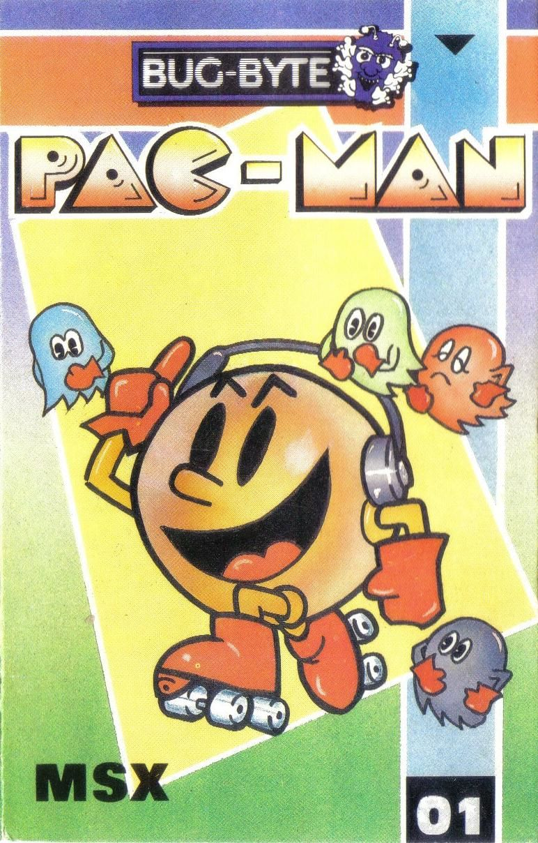 Pac-Man MSX Front Cover