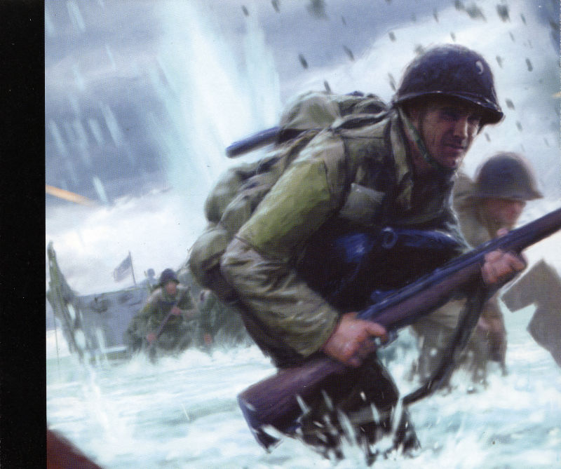 Medal of Honor: Allied Assault Windows Other Jewel Case - Inlay