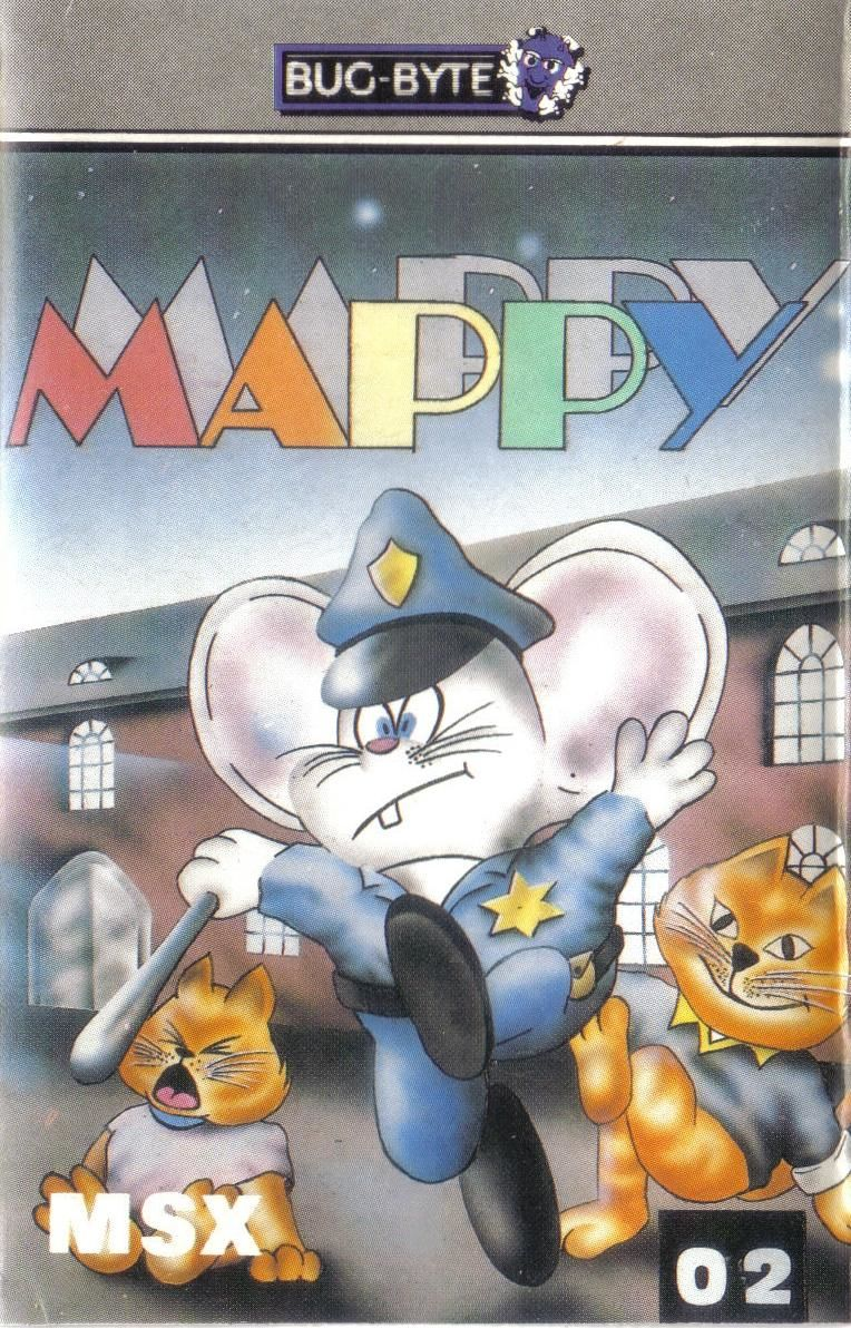 Mappy MSX Front Cover