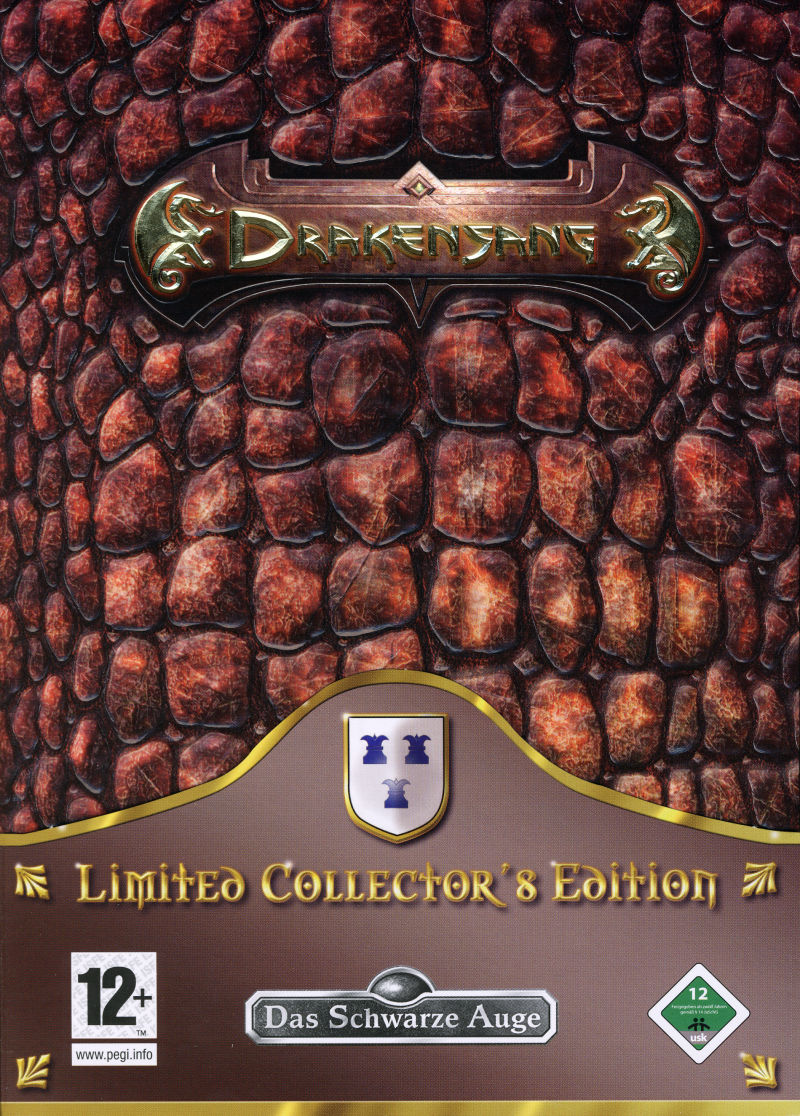 The Dark Eye: Drakensang (Limited Collector's Edition) Windows Front Cover