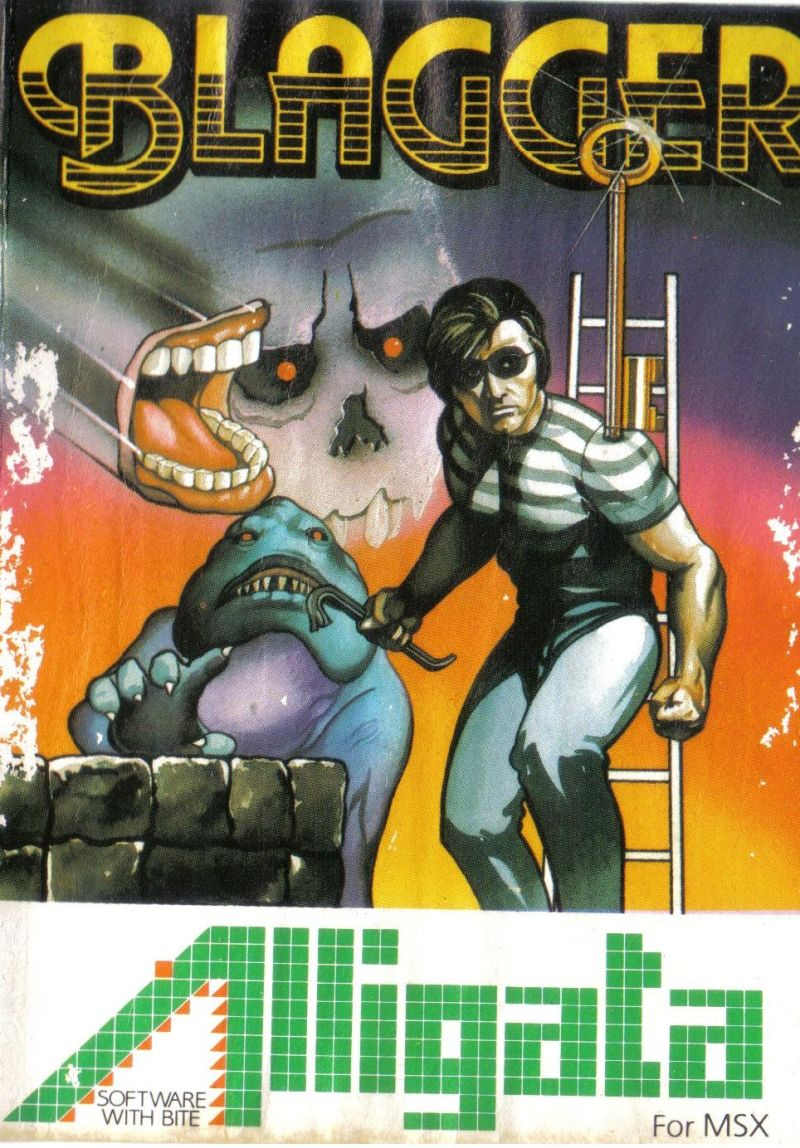 Blagger MSX Front Cover