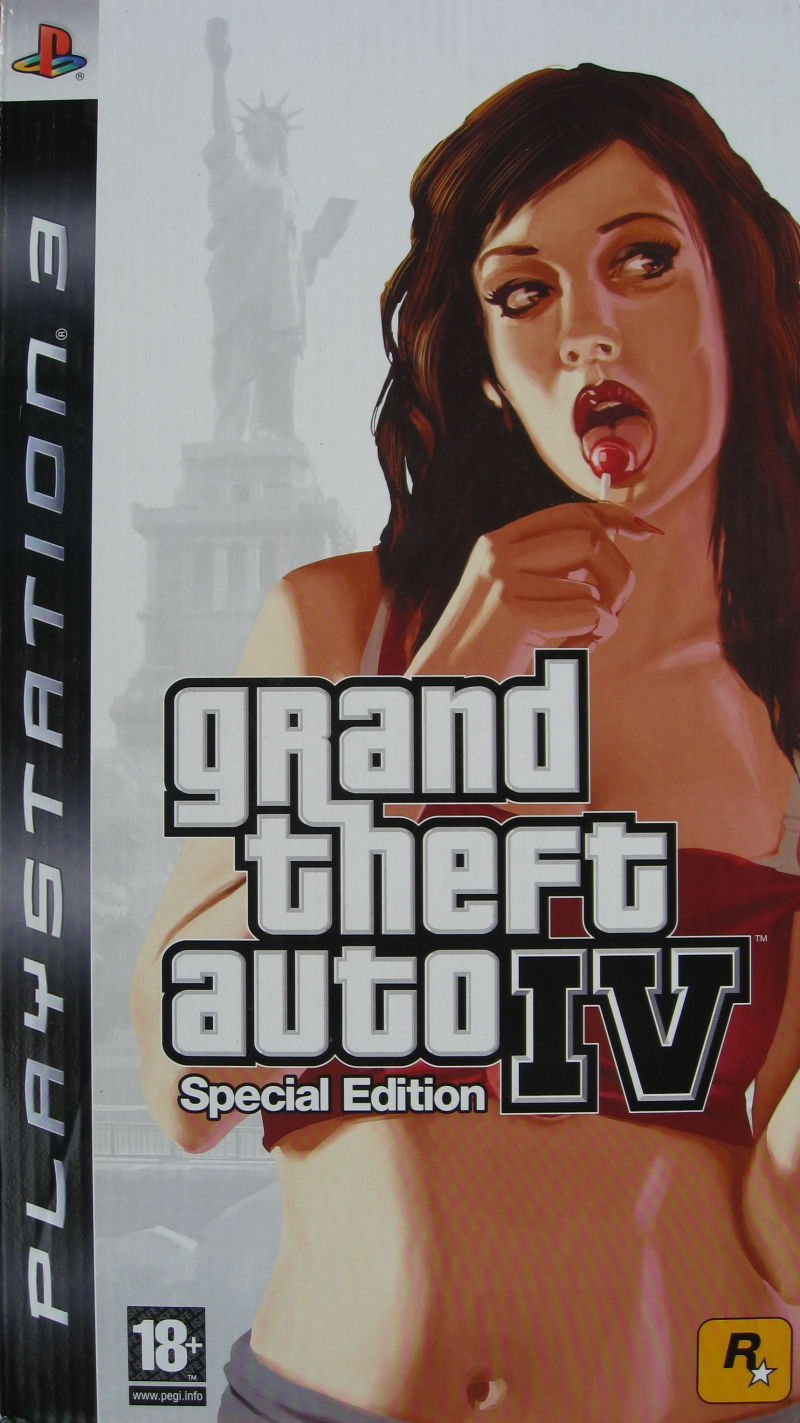 Grand Theft Auto IV (Special Edition) PlayStation 3 Front Cover