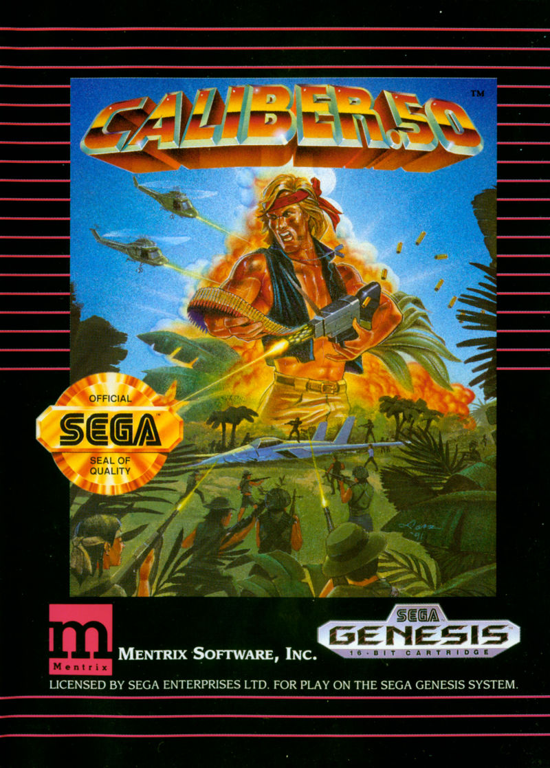 Caliber.50 Genesis Front Cover