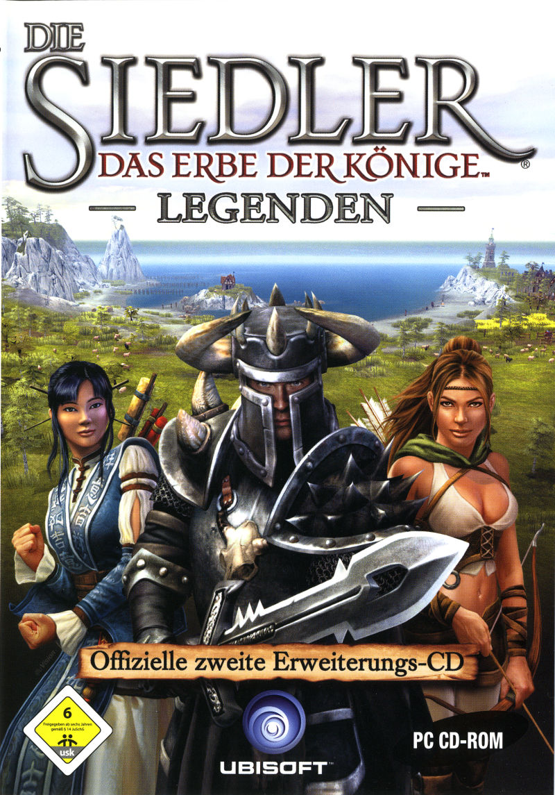 The Settlers: Heritage of Kings - Legends Expansion Disc Windows Front Cover