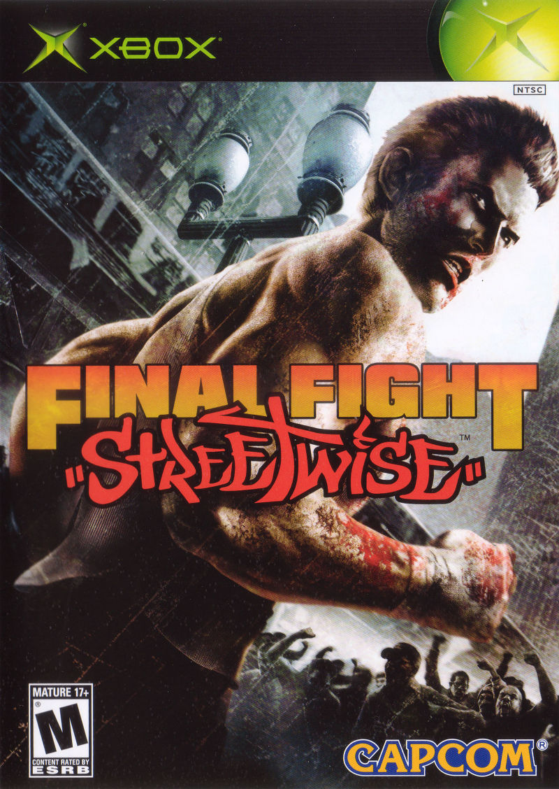 "Final Fight: ""Streetwise"" Xbox Front Cover"