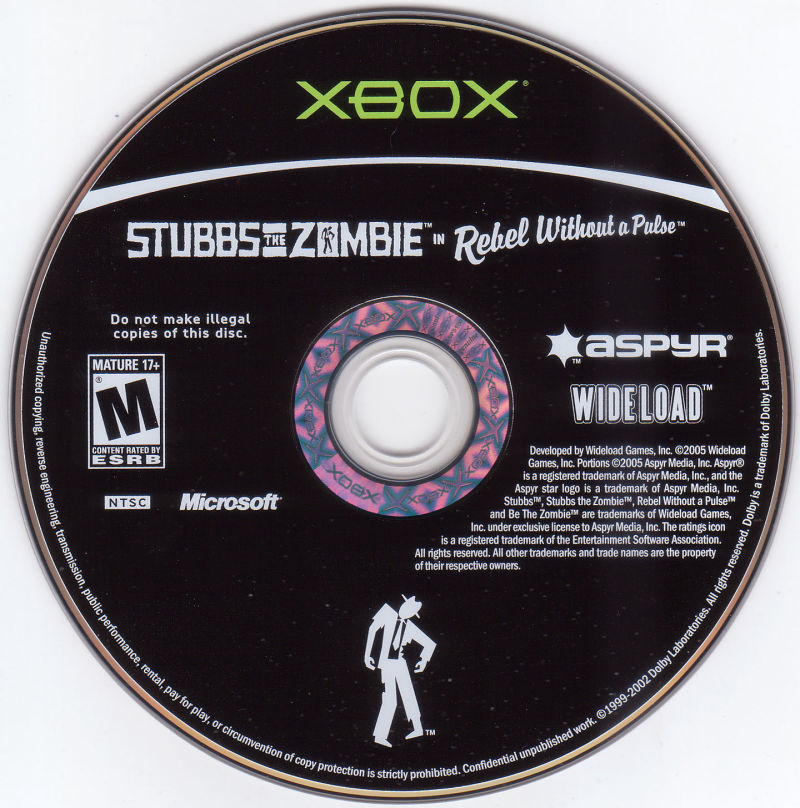 Stubbs the Zombie in Rebel Without a Pulse Xbox Media