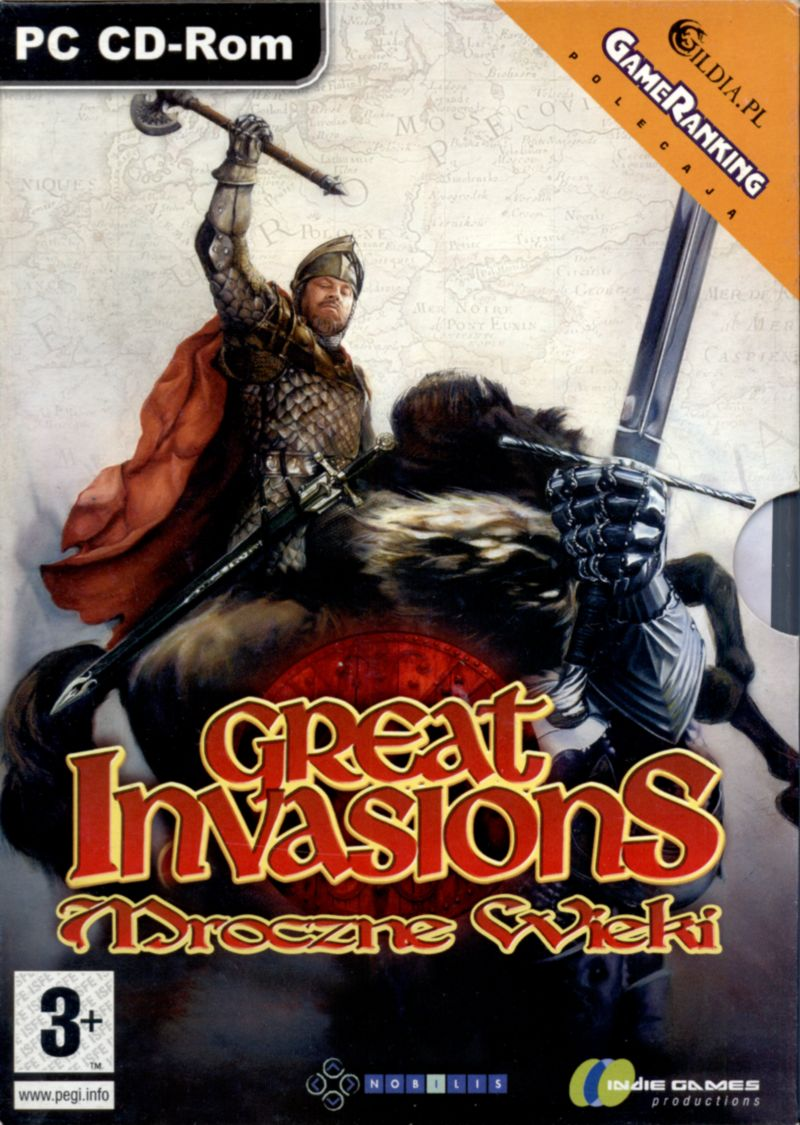 Great Invasions: The Darkages 350-1066 AD Windows Front Cover