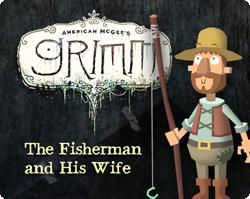 American McGee's Grimm: The Fisherman and His Wife Windows Front Cover