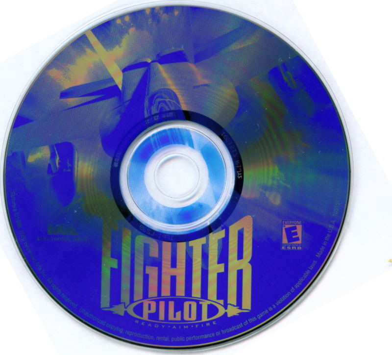 Electronic Arts Top Ten - Blue Windows Media Fighter Pilot