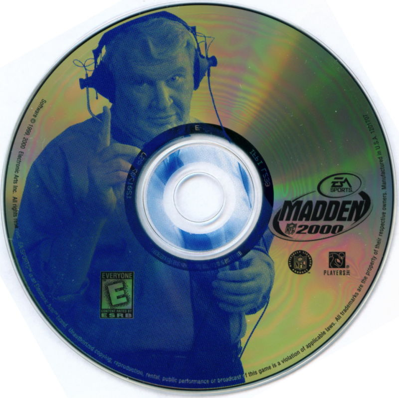 Electronic Arts Top Ten - Blue Windows Media Madden 2000