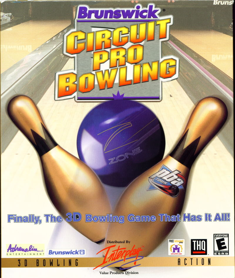 Brunswick Circuit Pro Bowling Windows Front Cover