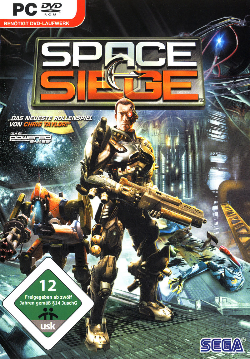 Space Siege Windows Front Cover