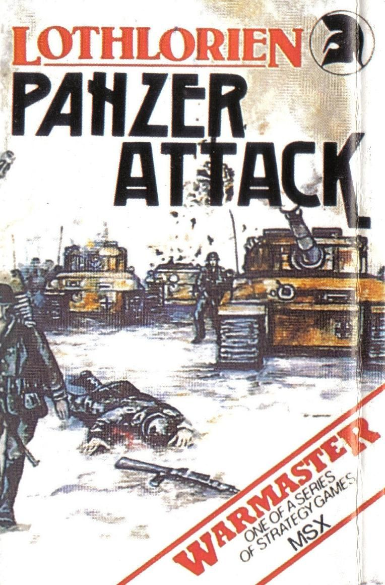 Panzer Attack MSX Front Cover