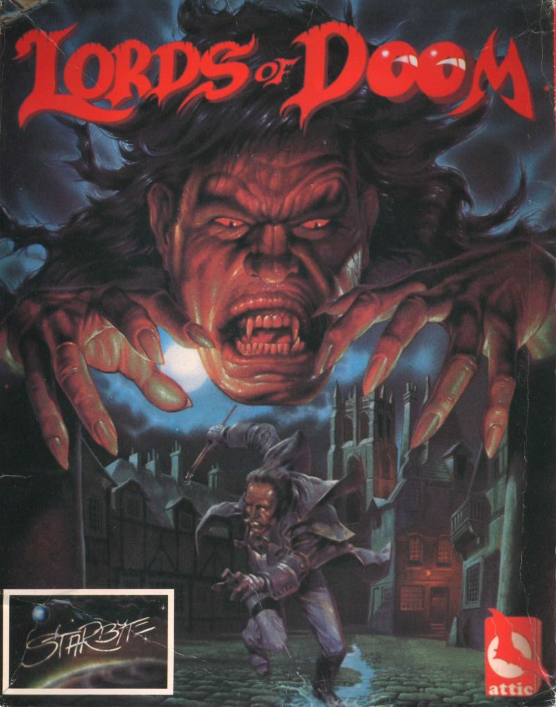 Lords of Doom DOS Front Cover
