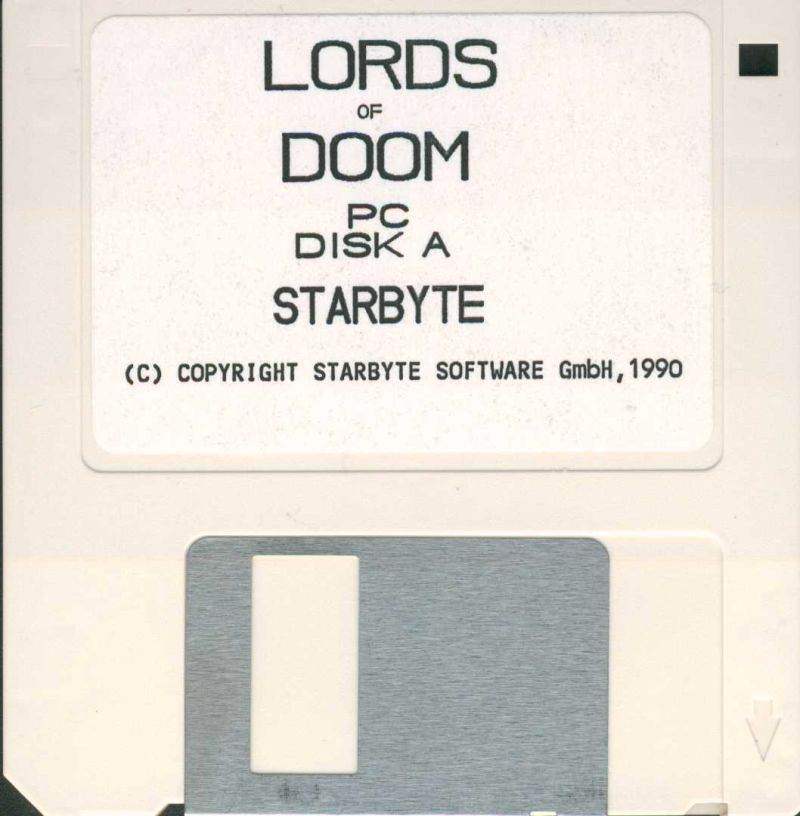 Lords of Doom DOS Media Disk 1/2